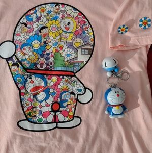 Takashi Murakami Doreamon UNIQLO shirt and goodies